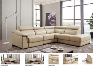 760 Sectional w/Electric Recliner Image