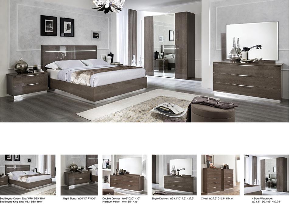 Platinum Legno Bed Image