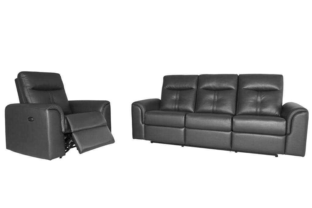 4016 Sofa w Recliner Image