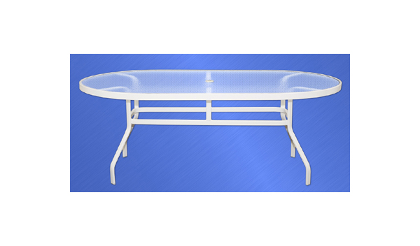 ALUMINUM COLLECTION DINING TABLE Image