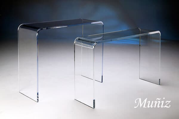 Acrylic Waterfall Tables Image