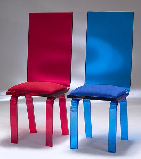 Classic Acrylic Chairs Image