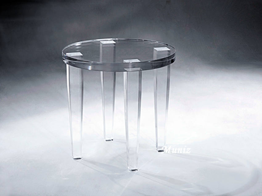 Alexis Acrylic Side Table Image