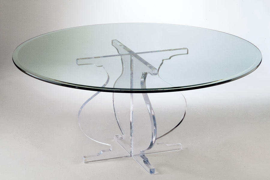 Athena Acrylic Cocktail Table Image
