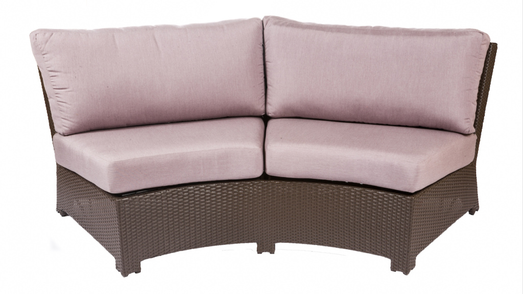 BONITA COLLECTION – CURVED SOFA IN JAVA Image