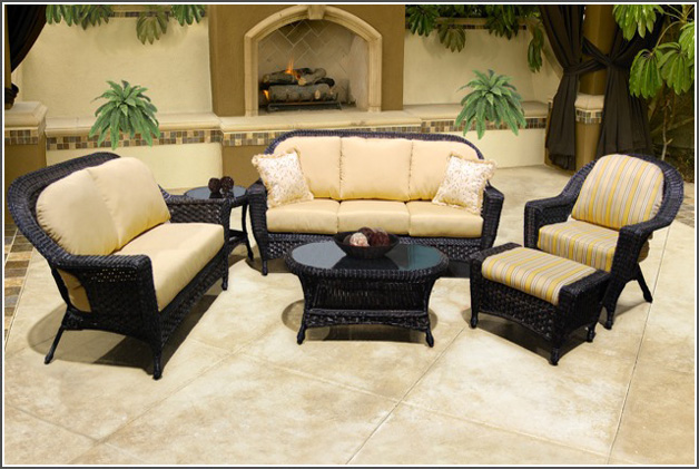 GEORGETOWN COLLECTION – PATIO SET CREAM Image