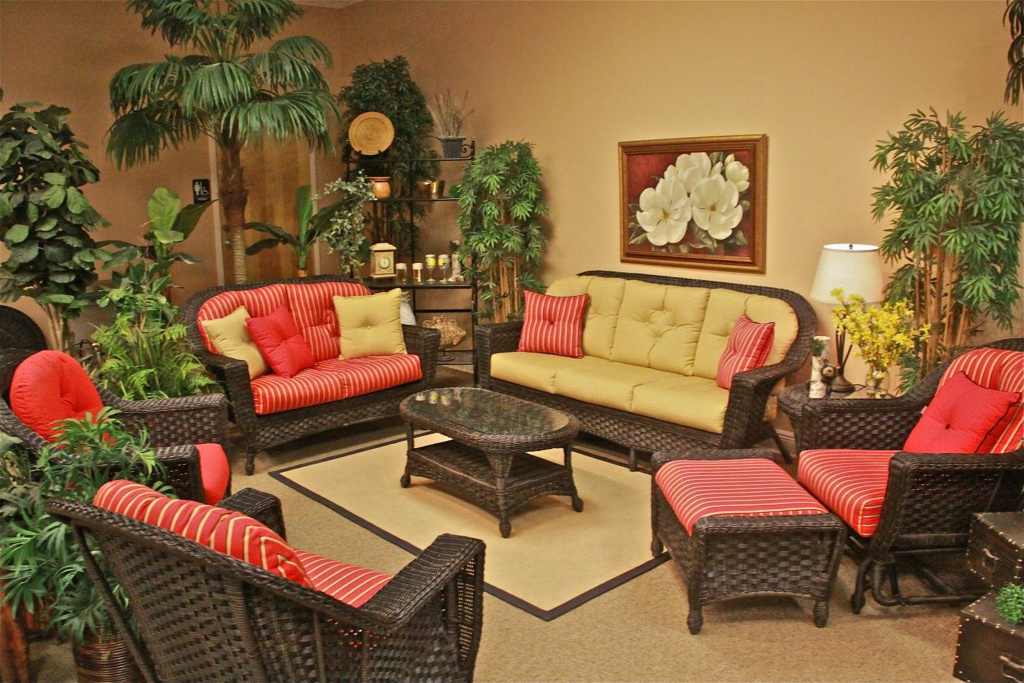 GEORGETOWN COLLECTION- PATIO SET RED GOLD Image
