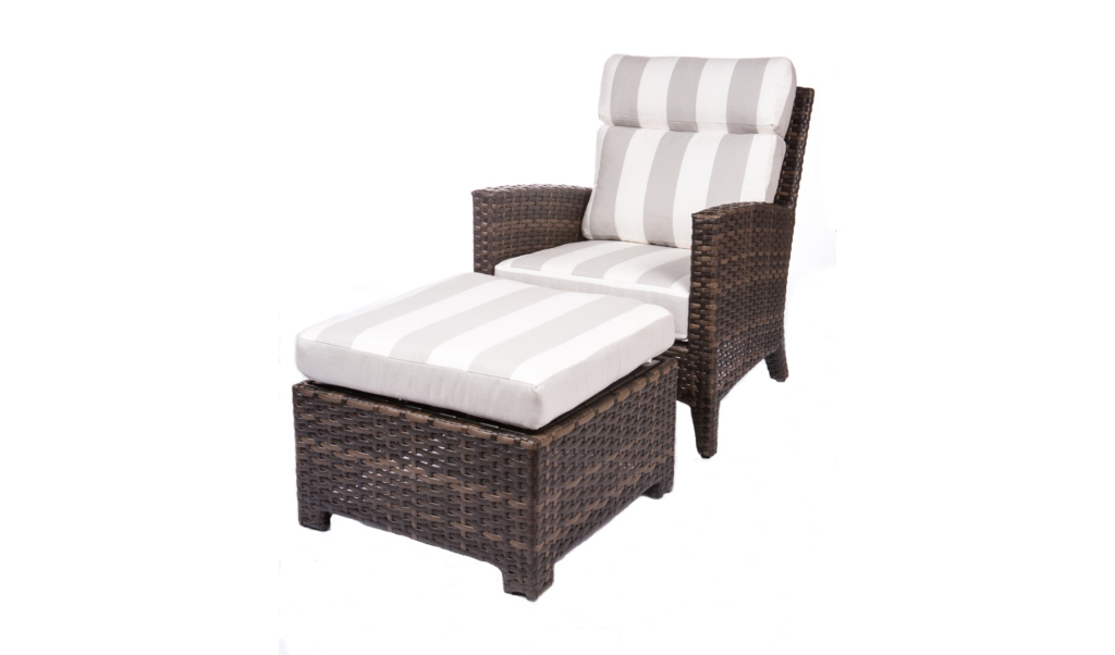 GRAND PALM COLLECTION – CLUB CHAIR WITH OTTOMAN Image