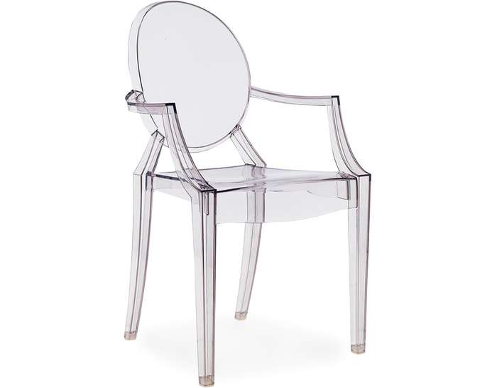 Ghost Chair with Arms Image