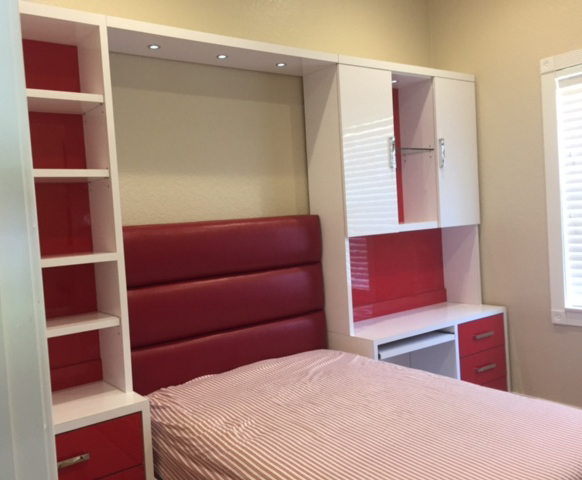 Custom Murphy Bed Image