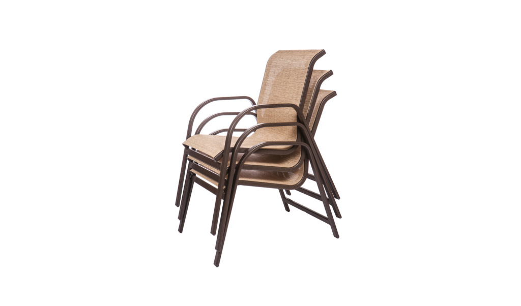 ALUMINUM COLLECTION – KONA/OCEAN DINING CHAIRS Image
