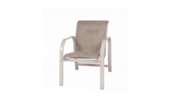 ALUMINUM COLLECTION – KONA SLING DINING CHAIR Image