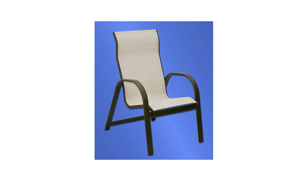 ALUMINUM COLLECTION – KONA HIGH BACK DINING CHAIR Image