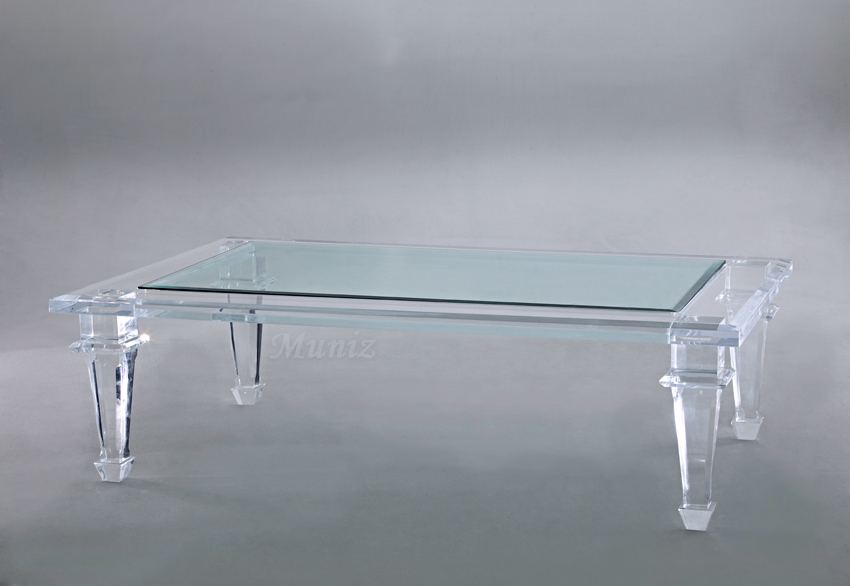 Lexington Acrylic Cocktail Table Image