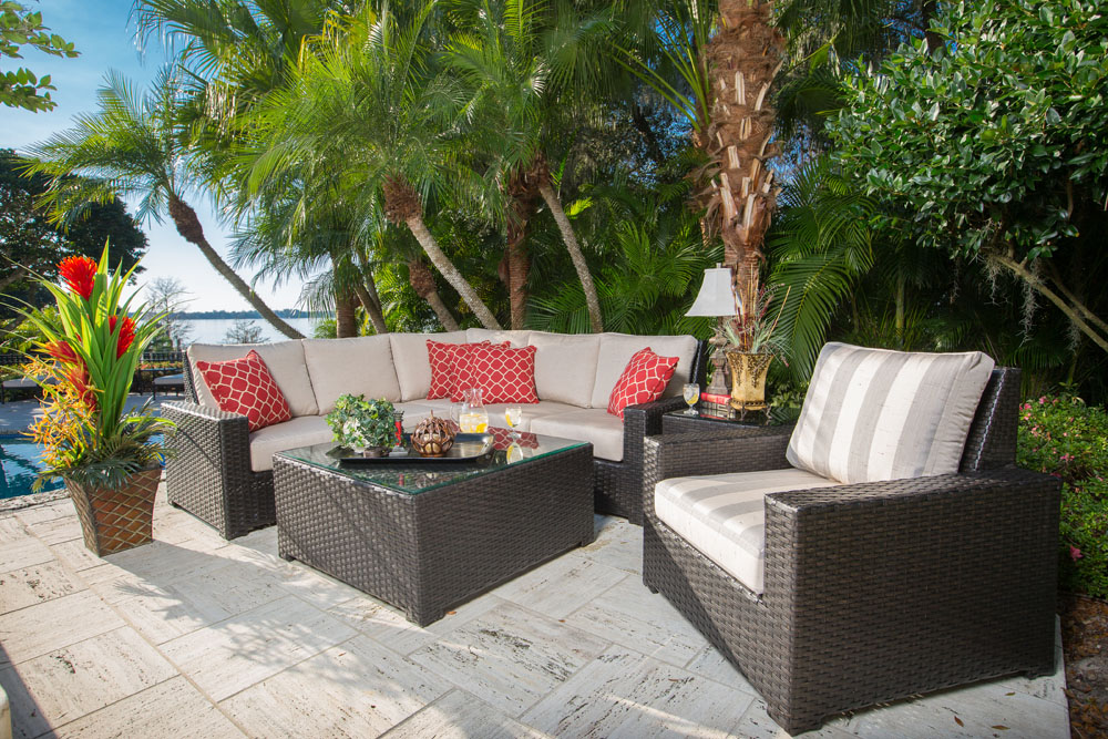 SONOMA COLLECTION – SECTIONAL PATIO SET Image
