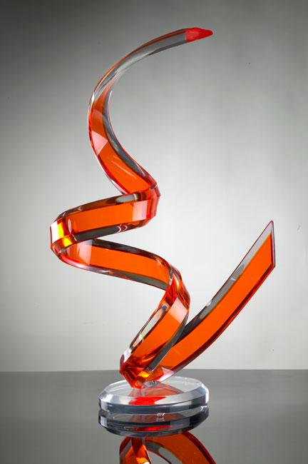 Naja Acrylic Sculpture Image