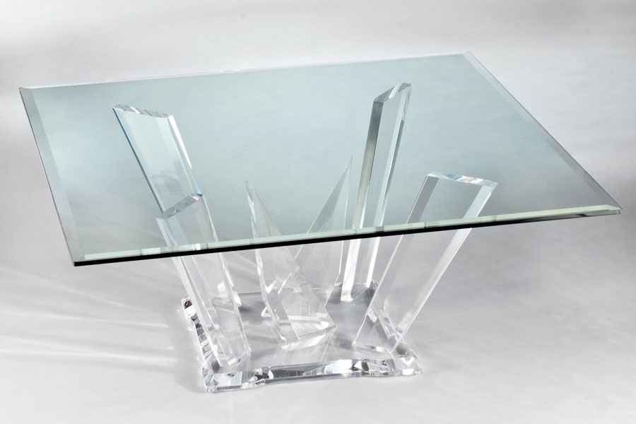 Odyssey EX Acrylic Cocktail Table Image