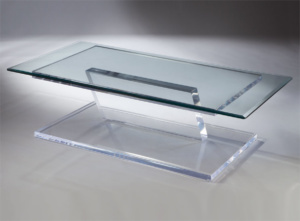 Pegasus Acrylic Cocktail Table Image