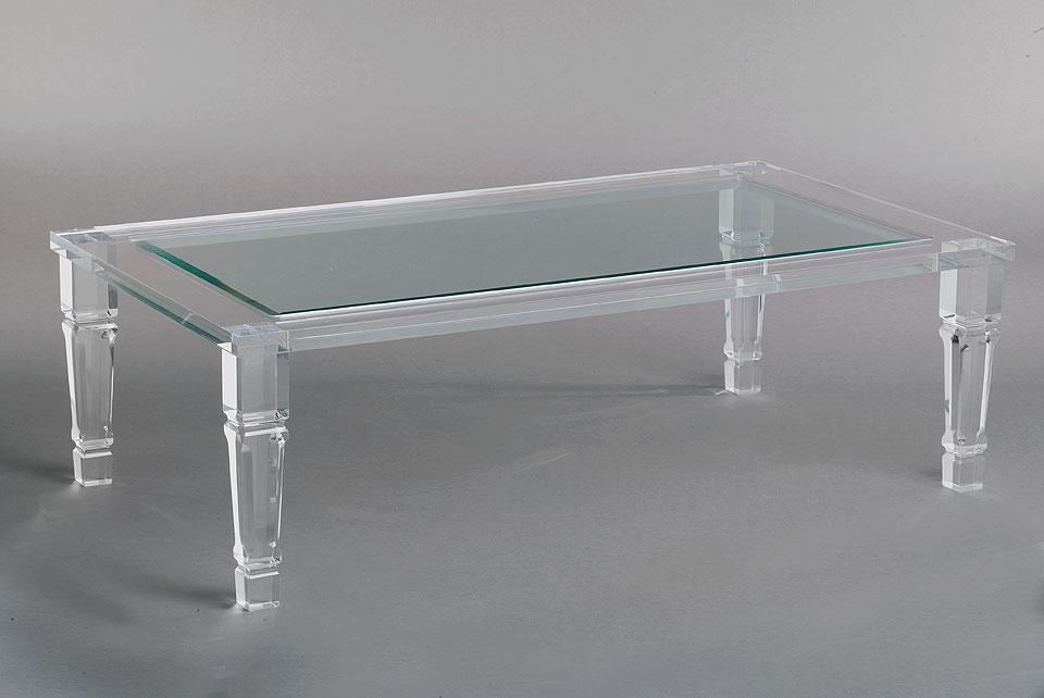 Philipe Acrylic Cocktail Table Image
