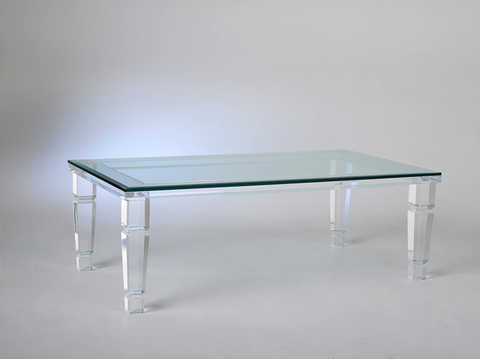 Philipe II Acrylic Cocktail Table Image