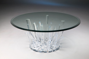 StarBurst Acrylic Cocktail Table Image
