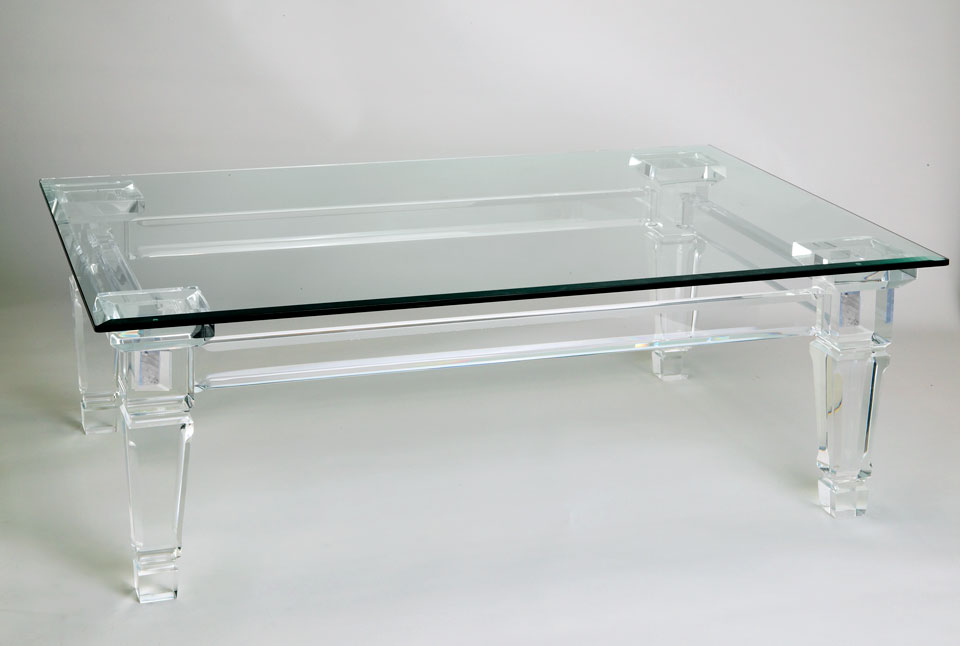 Trump Acrylic Cocktail Table Image
