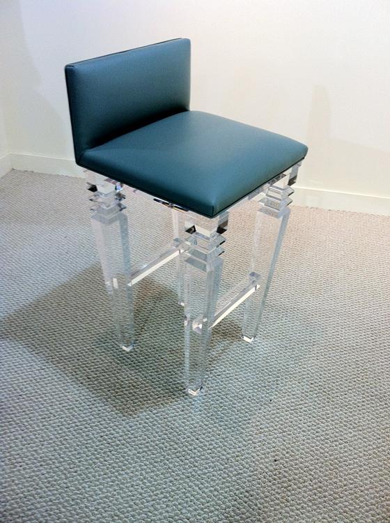 Venice Acrylic Bar stool Image