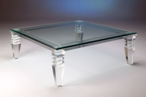 Venice Acrylic Cocktail Table Image
