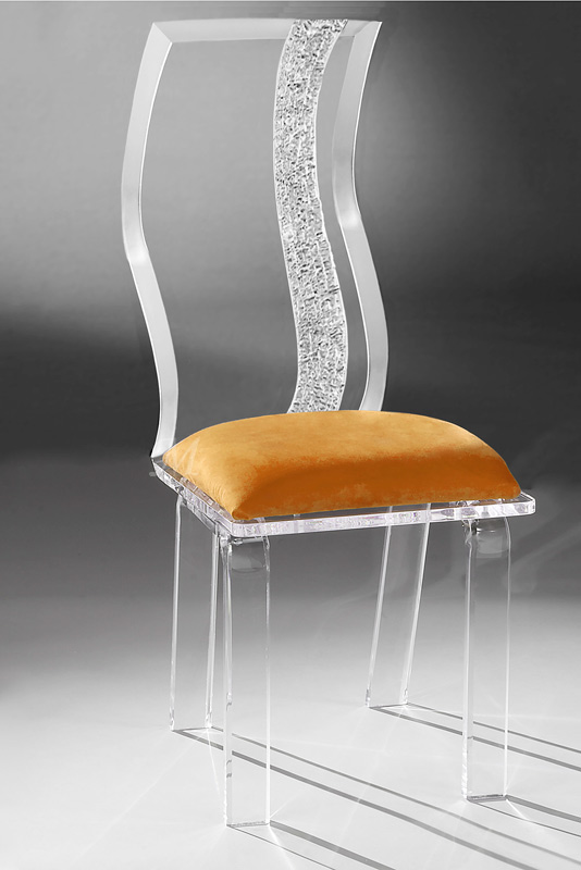 Wave Acrylic Chair Image