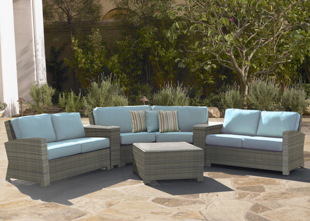 BONITA COLLECTION – SECTIONAL IN WILLOW Image