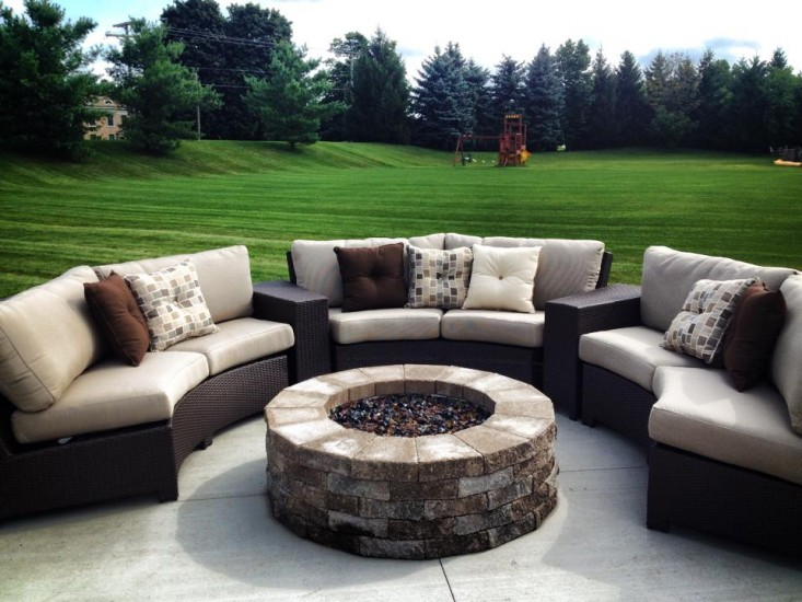 BONITA COLLECTION – SECTION IN JAVA WITH FIRE PIT Image