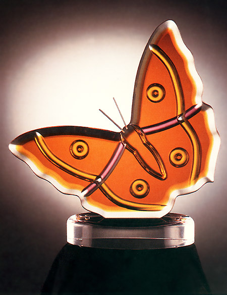 Butterfly Acrylic Sculpture Image