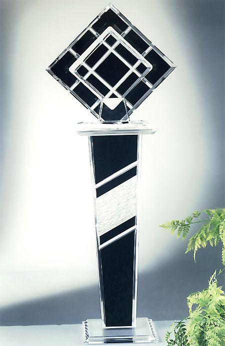 Destiny Acrylic Sculpture & Rio Acrylic Pedestal Image