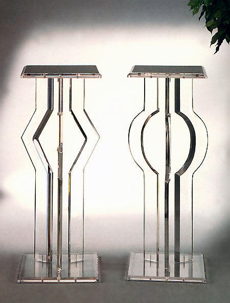 Directional Acrylic & Pedestal Orbit Acrylic Pedestal Image
