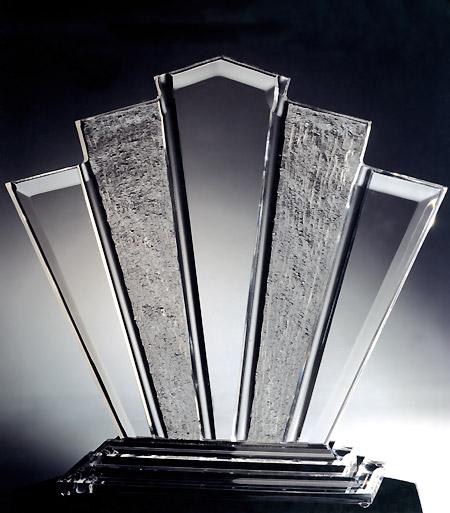 Fan Acrylic Sculpture Image