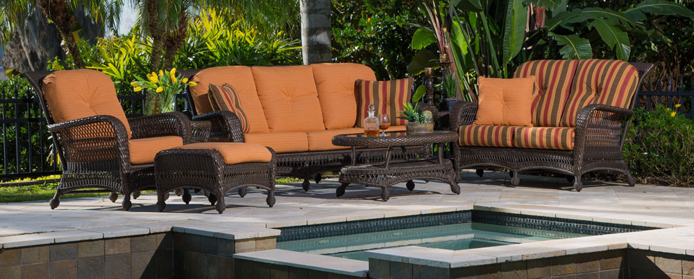 GRAND CYPRESS COLLECTION – PATIO SET Image
