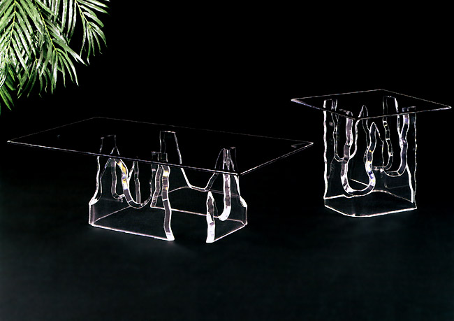 Icicle Acrylic Cocktail Tables  Image