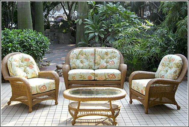 ISLAND COLLECTION – PATIO SET - GREEN Image