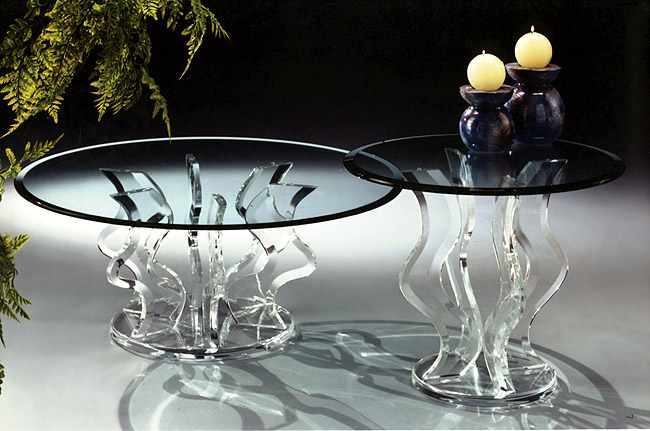 Sparkle Acrylic Tables Image