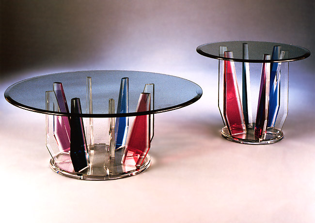 Spectrum Acrylic Tables  Image