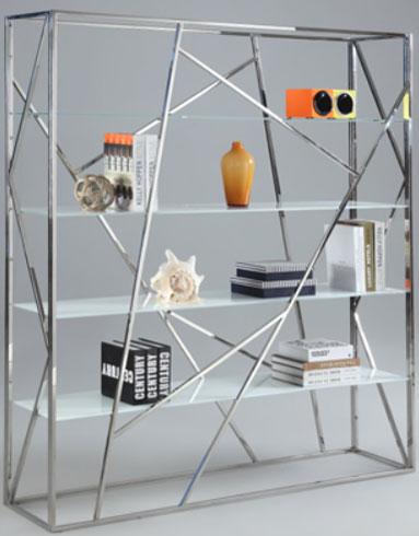 White Starphire bookcase Image